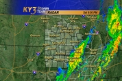 saturday may see a squall line form in the ozarks